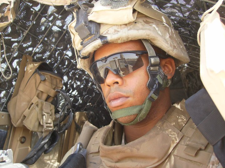 Activeduty marine experiences with a chap