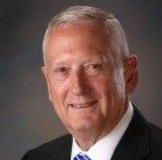 Photo of Jim Mattis, Service 2 School Advisory Board Member